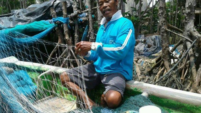 Satu Bulan Tidak Melaut Karena Cuaca Buruk, Nelayan di Munjung Agung Kab.Tegal Paceklik