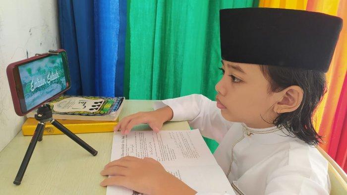 Perhimpunan Guru Agama di Banyumas Gagas Pesantren Virtual, Santrinya Online