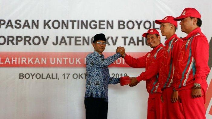 Kontingen Kabupaten Boyolali Targetkan 27 Emas di Pekan Olahraga Provinsi Jateng
