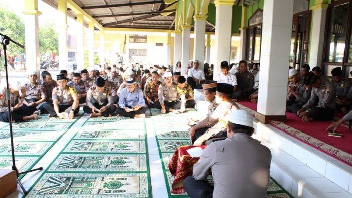 Sambut HUT ke-73 Bhayangkara, Polres Blora Gelar Dzikir dan Doa Bersama