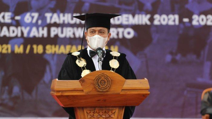 Sambutan Dr Jebul Suroso, Rektor Universitas Muhammadiyah Purwokerto (UMP).