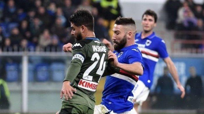 Hasil Liga Italia Tadi Malam Sampdoria Vs Napoli, Tuan Rumah Dipecundangi