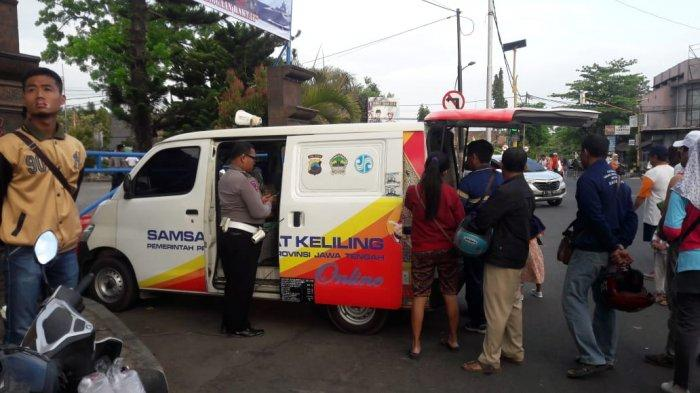 Asik, Ada Samsat Keliling di Area CFD Purworejo, Bisa Olahraga Sambil Bayar Pajak Kendaraan
