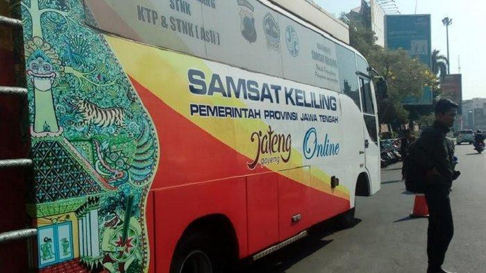 Jadwal Samsat Online Keliling Kota Semarang Hari Ini, Buka di Simpanglima Sampai Malam