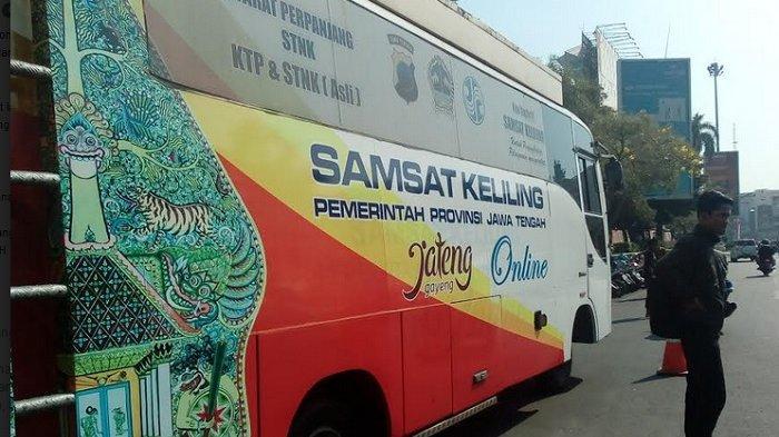 Jadwal Samsat Online Keliling Semarang Hari Ini, Rabu 26 Februari 2020 di Simpanglima dan Sompok