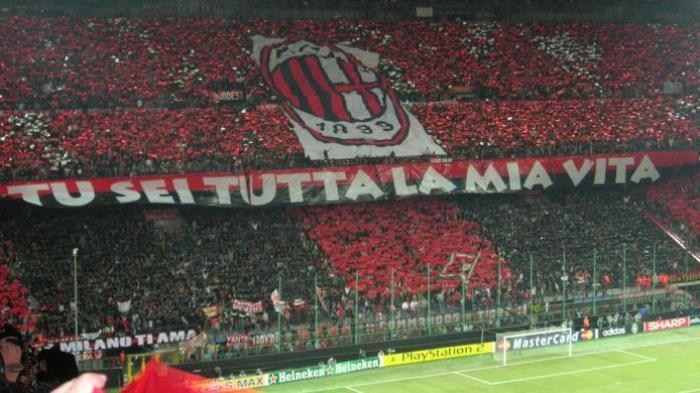 Stadion San Siro, Milan.
