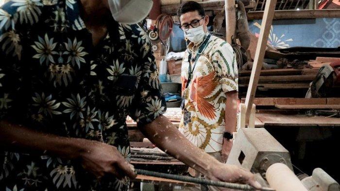 Sandiaga Uno Puji Desa Wisata Wanurejo Magelang Jadi Penghasil Devisa