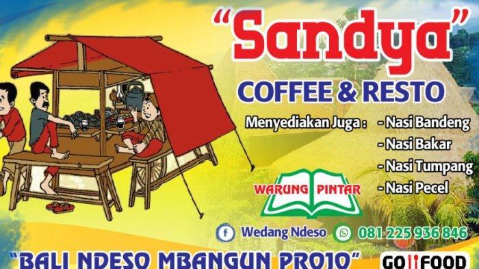 Sandya Coffee & Resto: Tempat Asik Buat Kongkow