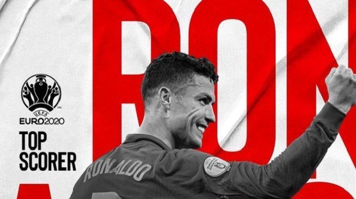 Sangat Bijaksana, Ini Kata Ronaldo Setelah Menjadi Top Skorer saat Portugal Gagal di Euro 2021