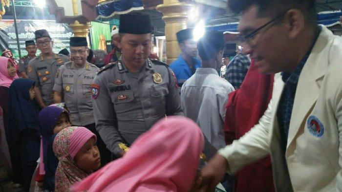 Puluhan Anak Yatim Dapat Santunan dari Kapolda Jateng di Perayaan Maulid Nabi Muhammad di Salatiga