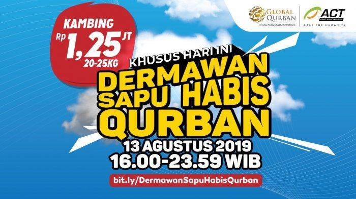 Dermawan Sapu Habis Qurban, Harga Setara Kambing Rp 1,25 Juta!