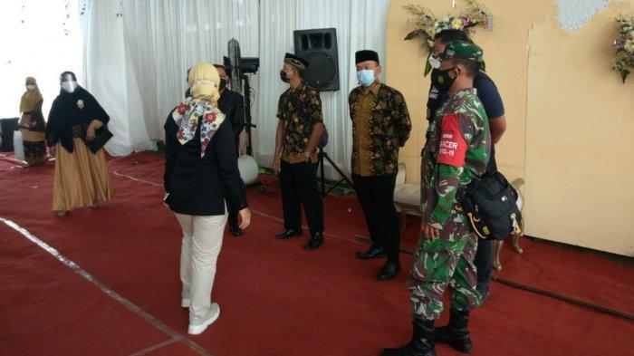 Acara Resepsi Pernikahan di Cilacap Dibubarkan Satgas Covid-19, Tenda Dibongkar