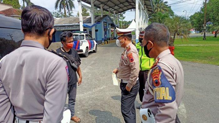 Travel Gelap Dicegat di Pos Ajibarang Banyumas, Antar Pemudik dari Jakarta ke Kebumen dan Purworejo