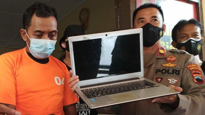 Satpam Gajahmungkur Ajak Balitanya Maling Laptop Mahasiswa: Saya Sambil Momong Anak