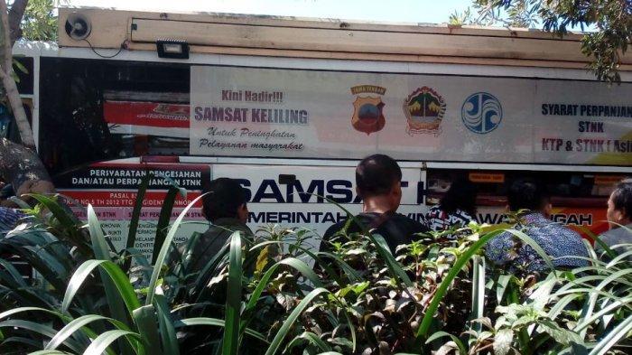 Jadwal Samsat Online Keliling Semarang Hari Ini, Rabu 6 Januari 2021 Buka di Simpanglima