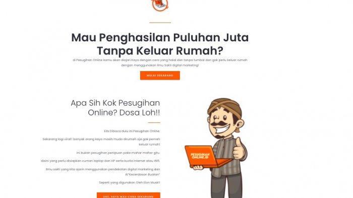 Viral Sayembara Bisnis Online Rp 10 Juta