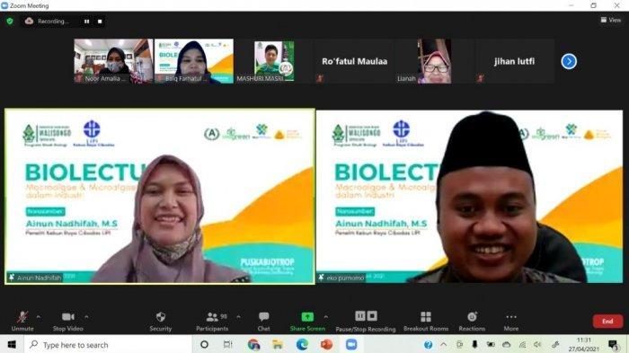 Prodi Biologi UIN Walisongo Semarang Datangkan Peneliti LIPI, Bahas Peran Algae di Dunia Industri