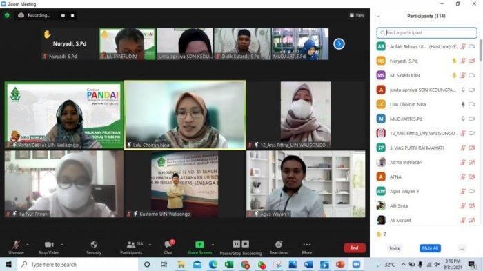 UIN Walisongo Dampingi 456 Guru, Terapkan Computational Thinking di Semarang