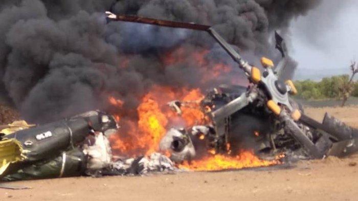 Kotak Hitam VCR Helikopter Jatuh di Kendal Ditemukan, TNI AD Minta Bantuan Rusia Ungkap Penyebabnya