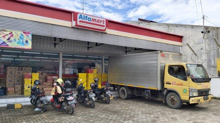 Minimarket di Kota Tegal Kemalingan, Pelaku Sikat Habis Rokok dan Kopi Saset