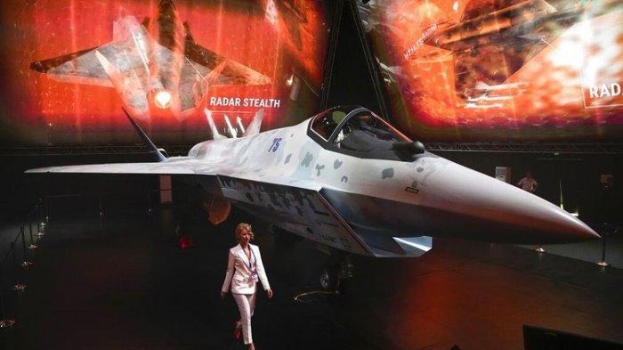 Rusia Luncurkan Jet Tempur Siluman Terbaru Tandingi F-35 Buatan AS, Bisa Serang 6 Target Sekaligus