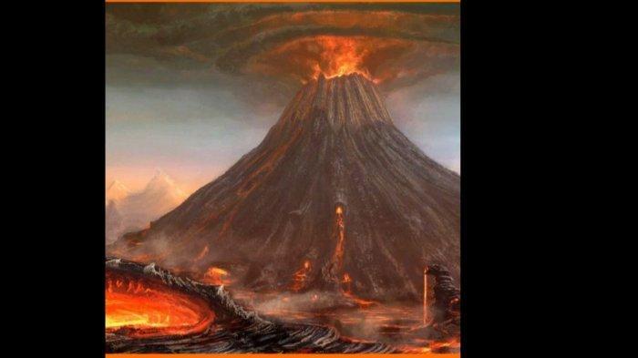 Sejarah Letusan Gunung Tambora 1815, Dentumannya Terdengar Sampai di Sumatera dan Jawa