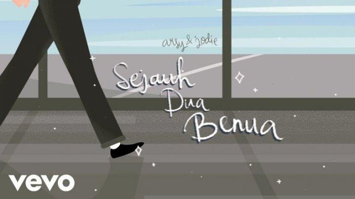 Lirik Lagu dan Chord Gitar Sejauh Dua Benua Brisia Jodie feat Arsy Widianto