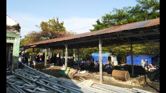 Dampak Kebakaran Pasar Srogo Kendal, Senatun Terpaksa Pindah Dagang ke Tempat Lain