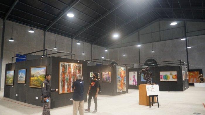 Enam Pelukis Purbalingga Go Internasional, Tampil Dalam Imlek Art International Exhibition