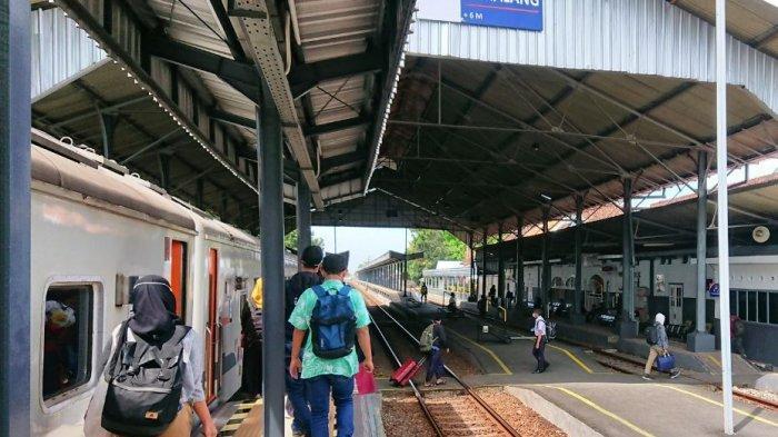 H-10 Lebaran Okupansi Penumpang di Stasiun Pemalang Stabil, Krisbiyantoro: Tiap Hari 250 Orang