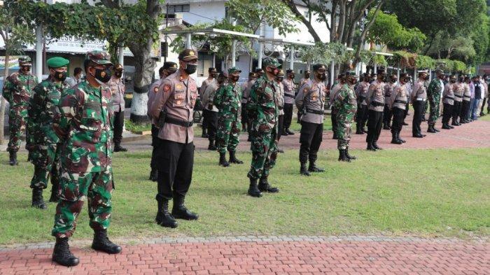 1.035 Personil Dikerahkan Kawal PPKM Darurat Jawa-Bali di Sragen