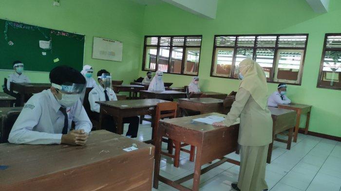 Uji Coba PTM, Guru Tetap Wajib Layani Siswa yang Masih Ingin Belajar Daring