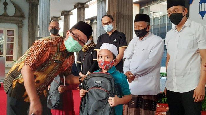 Baznas Kota Semarang Gandeng Pemkot dan Maybank Santuni Anak Yatim Piatu pada Momentum Ramadan