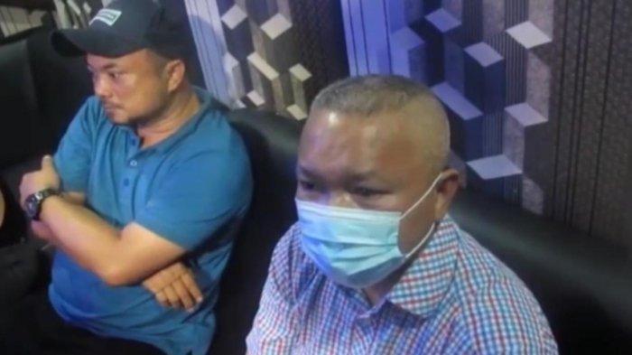 Sekda Nias Utara terjaring razia yang dilakukan Petugas Polrestabes Medan. (HO)