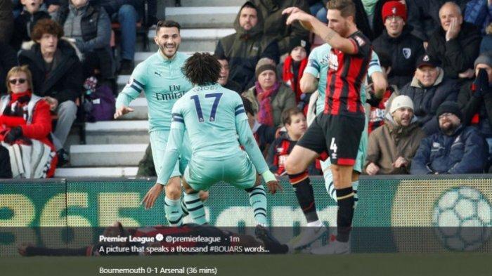 Hasil Liga Inggris - Arsenal Tempel Chelsea di Klasemen Sementara Usai Atasi Bournemouth