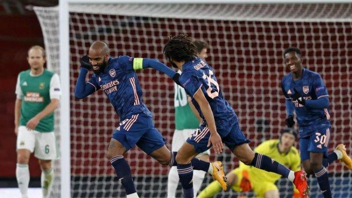 Hasil Liga Inggris Sheffield United Vs Arsenal, Lacazette Jadi Bintang Kemenangan The Gunners