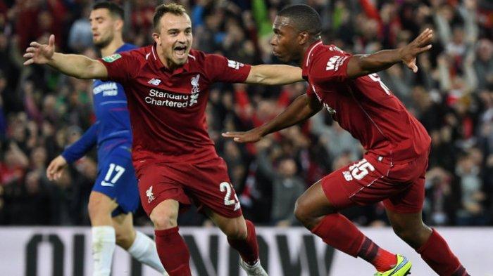 Highlight dan Gol-golLiverpool VsChelsea - Eden Hazard Bikin The Reds Tersingkir dari Piala Liga