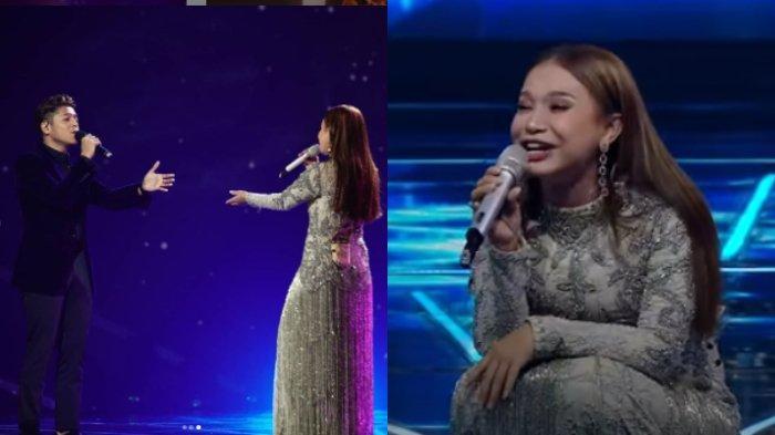 Selesai Duet dengan Marknatama, Rossa Langsung Lemas Jongkok di Panggung Indonesian Idol