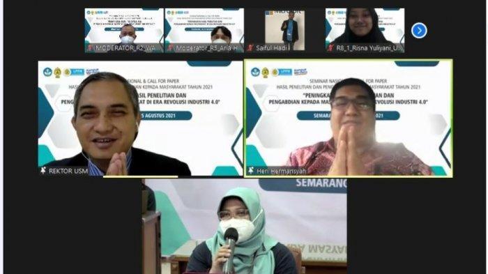 Prof Heri dari BRIN di Seminar Nasional LPPM USM: Hasil Penelitian Harus Bermanfaat bagi Masyarakat
