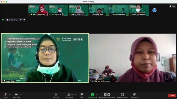 Tukar Gagasan Kreatif untuk Tingkatkan Budaya Baca, 27 Sekolah di Cilacap Gelar Pameran Virtual