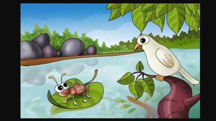 Dongeng Merpati dan Balas Budi Semut