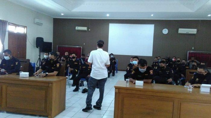 Pelatihan tracer relawan Senkom Mitra Polri Blora