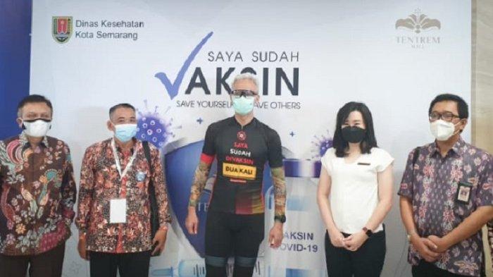 Dari Walikota hingga Gubernur Hadir di Sentra Vaksin Mall Tentrem Semarang