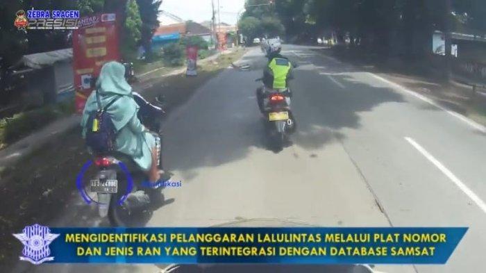 Helm dan Mobil Patroli Polres Sragen Dilengkapi Kamera Portabel, Rekam Pelanggar Lalulintas