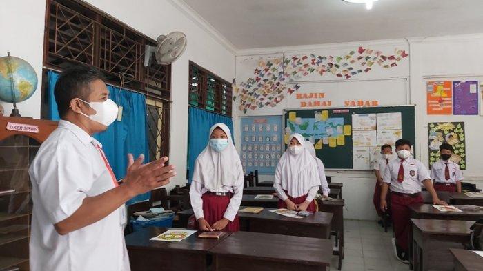 Pekan Pertama Pembelajaran Tatap Muka SD di Tegal, Perhatian Fokus pada Psikososial Anak