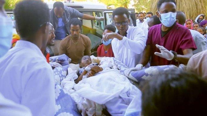Etiopia Lancarkan Serangan Udara di Sebuah Pasar di Tigray, 64 Orang Tewas dan 180 Lainnya Terluka