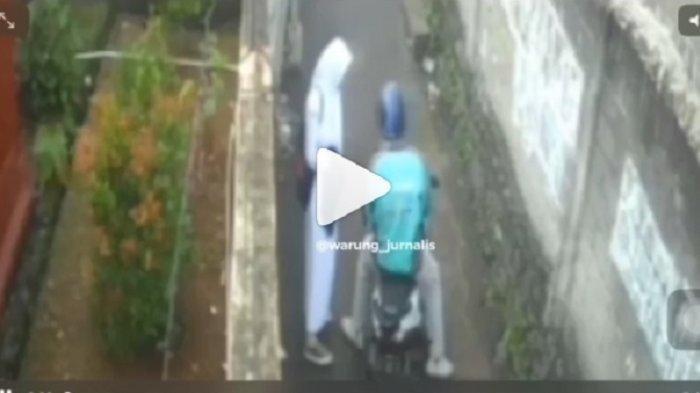 Siswi SMA Jadi Korban Begal Payudara Pria Berjaket Ojek Online, 2 Kali Beraksi, Terekam CCTV