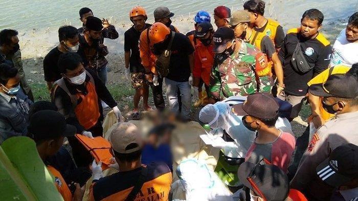 Seorang pemancing dinyatakan meninggal dunia setelah tenggelam di Waduk Kedung Ombo, Dukuh Ngoro RT 17 Desa Gilirejo Lama, Kec Miri, Kab Sragen, Minggu (30/5/2021).