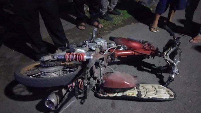 Tabrak Becak di Depan RS Bhayangkara Semarang Semalam, Seorang Pemotor Tewas
