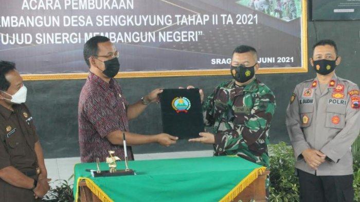 TMMD Sengkuyung Tahap II Kodim Sragen di Desa Tlogotirto, Sumberlawang